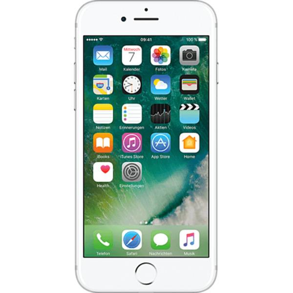 apple iphone 7 256 gb silber im tarif magentamobil m mit top handy von t mobile f r 399 95. Black Bedroom Furniture Sets. Home Design Ideas