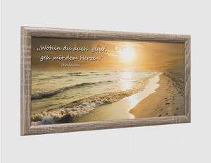 Bild Sonnenuntergang Strand