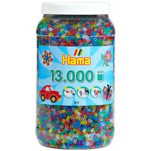 HAMA Bügelperlen Glitzer - 13000 Stück