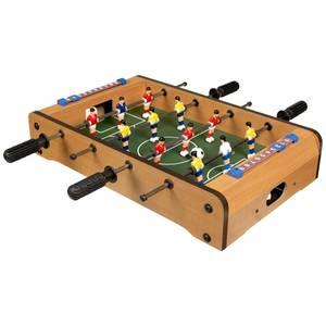 Tischfußball aus Holz