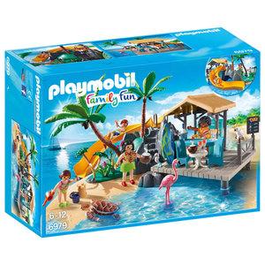 PLAYMOBIL 6979 Family Fun Karibikinsel mit Strandbar