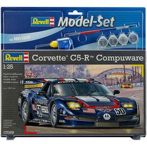 Model-Set Chevy Impala Corvette