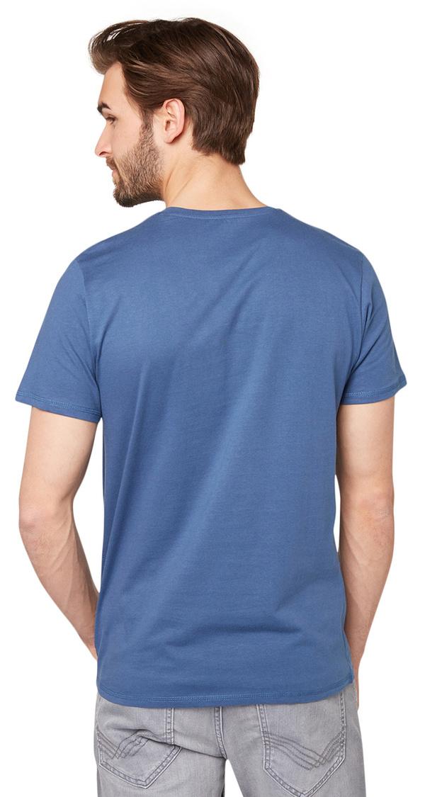 t shirt mit schriftzug print von tom tailor f r 12 99. Black Bedroom Furniture Sets. Home Design Ideas