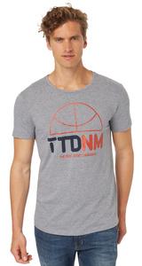 T-Shirt mit Basketball-Logo