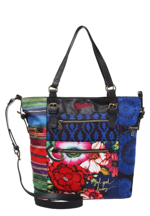 desigual argentina shopping bag multicoloured von zalando f r 39 95 ansehen. Black Bedroom Furniture Sets. Home Design Ideas