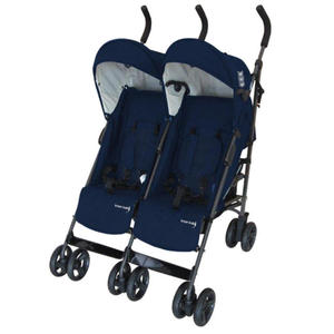 "knorr-baby Geschwisterwagen ""Side by Side"", navy blue"