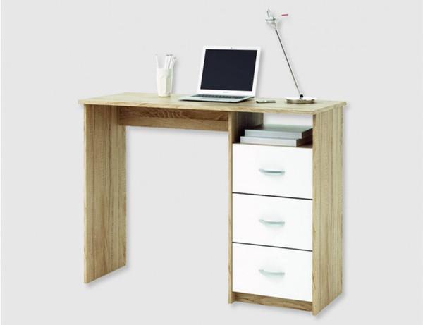 schreibtisch sonoma eiche von tedox f r 50 00 ansehen. Black Bedroom Furniture Sets. Home Design Ideas