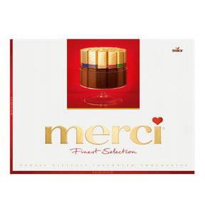 MERCI             Grosse Schokoladen-Vielfalt, 675g