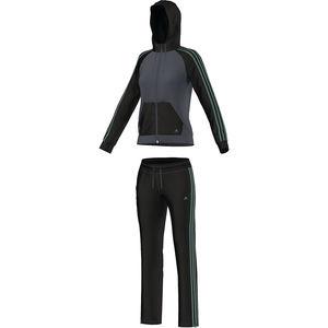 adidas Damen Climalite Trainingsanzug New Young Knit