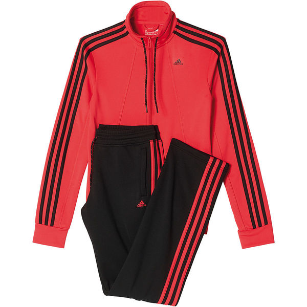 adidas Damen Climalite Trainingsanzug Essential 3S
