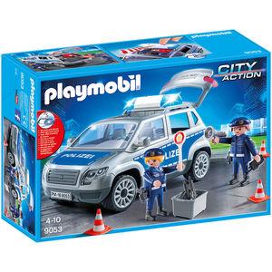 PLAYMOBIL® City Action 9053 Polizei-Geländewagen mit Licht und Sound
