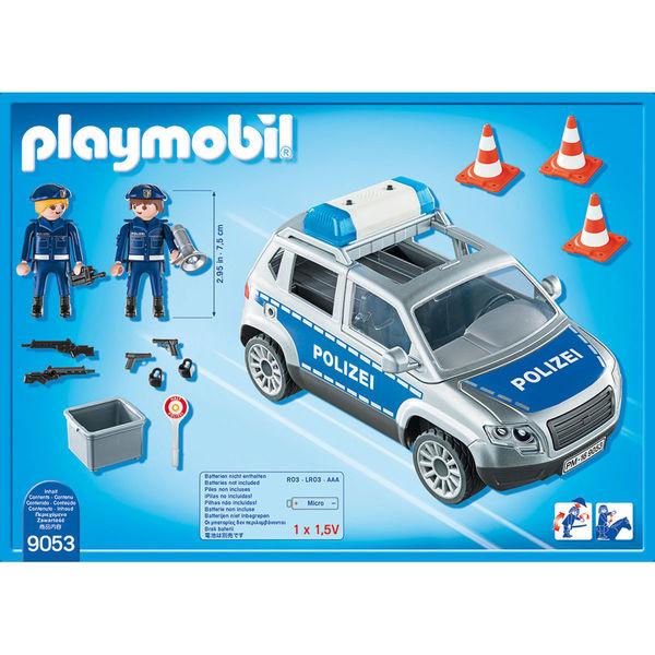 City Elsässer Licht Und Wohndesign: PLAYMOBIL® City Action 9053 Polizei-Geländewagen Mit Licht