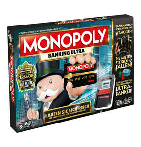 Hasbro            Games & More            Spiel Monopoly Banking Ultra