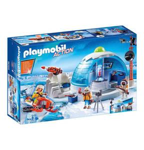 PLAYMOBIL®        Polar Ranger Hauptquartier 9055