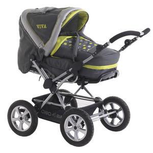 """Chic 4 Baby Kombi-Kinderwagen """"Viva"""", lemontree 2013"""