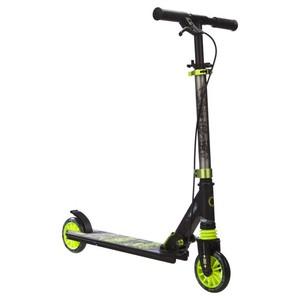 City-Roller Scooter Mid 5 Easybrake Kinder grün/grau OXELO