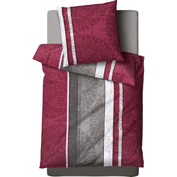 time to relax satinbettw sche sin tao grau rot von karstadt f r 24 95 ansehen. Black Bedroom Furniture Sets. Home Design Ideas