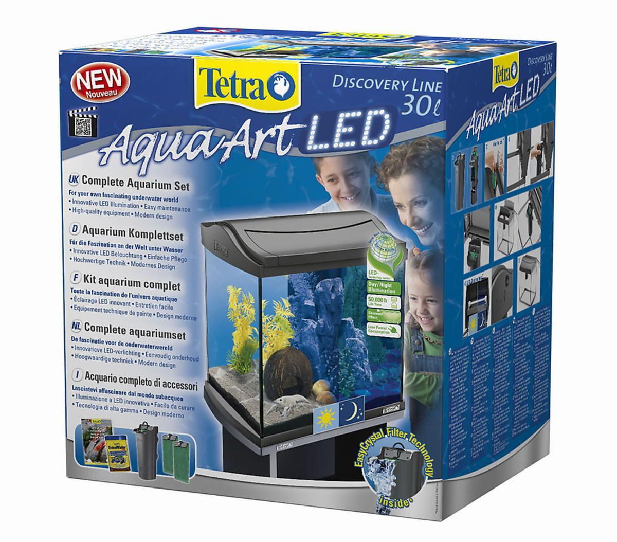 Bild 1 von Tetra AquaArt LED Aquarium-Set, 30 Liter