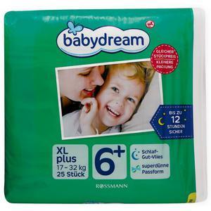 babydream Windeln XL plus
