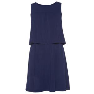2 in 1 Kleid mit Falten-Detail