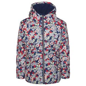 Jacke mit Blumen-Muster