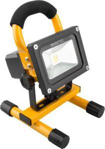 NINETEC 10W LED Akku-Baustellen-/Flutlichtstrahler, gelb