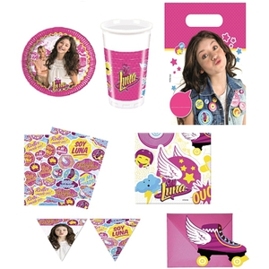 Soy Luna - Partykoffer, 50-tlg.