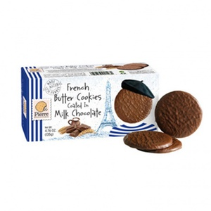 Pierre Biscuiterie Butter Cookies Milk Chocolate