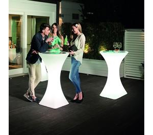 Stehtisch Brazil mit Neon-Beleuchtung