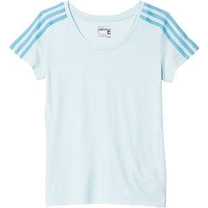 adidas Damen T-Shirt slimfit Climalite Essentials 3S