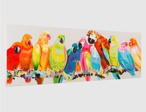 Gemälde Papageien