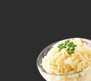 Frisches Sauerkraut