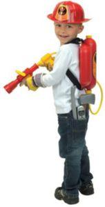 klein Großes Feuerwehrset im Karton Jungen Kinder