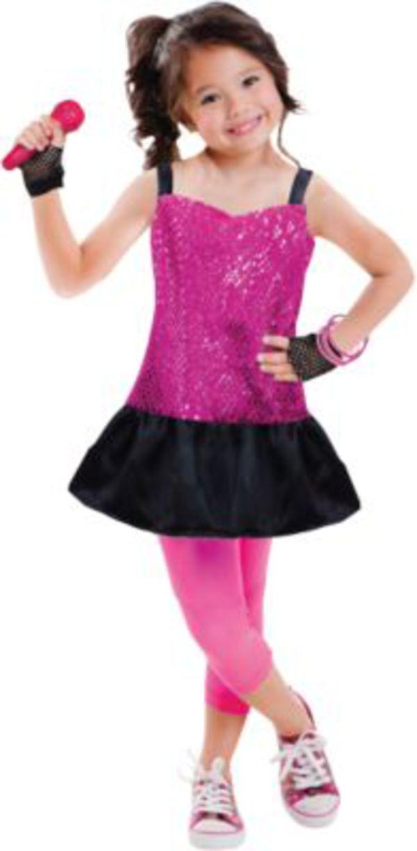 Kostum Rockstar 3 6 Jahre Gr 98 116 Madchen Kinder Von Mytoys De