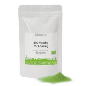 BIO Matcha for Cooking (gemahlener japanischer Grüntee), 100g Beutel