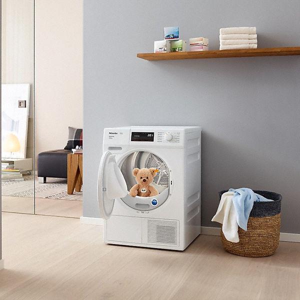 miele tce 635 wp w rmepumpentrockner a inklusive gratis steiff teddy hr miele von. Black Bedroom Furniture Sets. Home Design Ideas