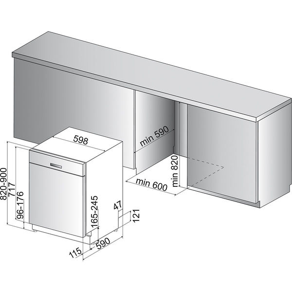 bauknecht buc 3c26 x unterbau geschirrsp ler a von karstadt ansehen. Black Bedroom Furniture Sets. Home Design Ideas