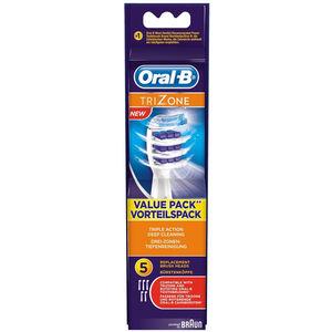 Oral-B Ersatz-Aufsteckbürsten TriZone, 5er-Packung