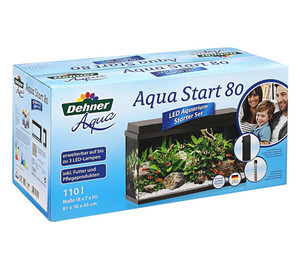 Dehner Aqua Start 80 LED Aquarium-Set