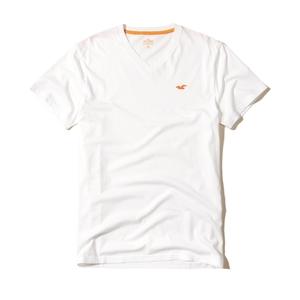Must-have-T-Shirt mit V-Ausschnitt