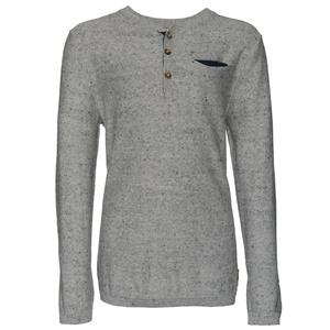 Henley-Pullover mit Brusttasche