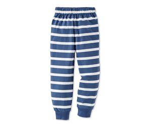 Schlafanzug, blau