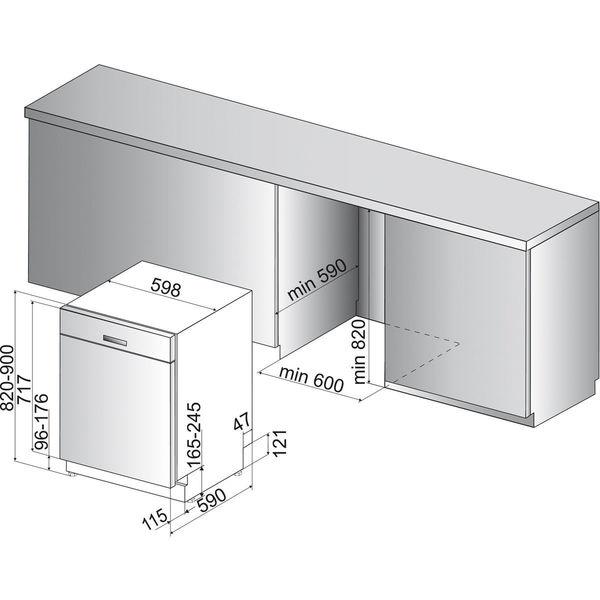 bauknecht buc 3c32 x unterbau geschirrsp ler a von karstadt ansehen. Black Bedroom Furniture Sets. Home Design Ideas