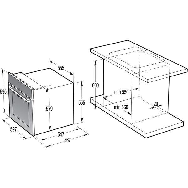 gorenje einbauherd set giga set a edelstahl von karstadt ansehen. Black Bedroom Furniture Sets. Home Design Ideas