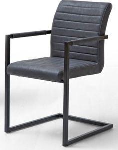 MCA 2er Set Schwingstuhl Kian A Vintage Grau
