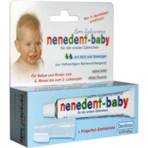 Nenedent Baby Zahnpflege-Set