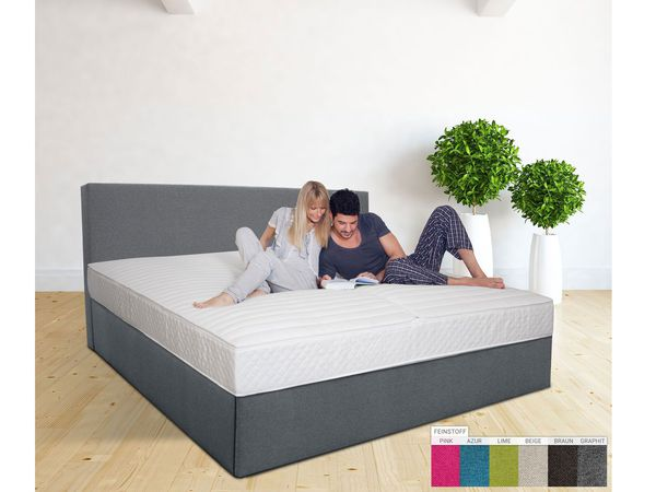 medilight wasserbett mit ein kammer system in boxspring optik inkl aufbauservice von lidl f r 1. Black Bedroom Furniture Sets. Home Design Ideas