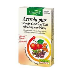 Alsiroyal - Acerola plus Vitamin C 400 Zink 30Stk