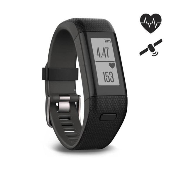 Activity Tracker HRM Vívosmart HR+ schwarz