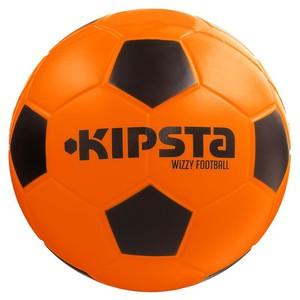 KIPSTA Fußball Wizzy aus gepresstem Schaumstoff Gr. 4 orange/schwarz, Größe: 4